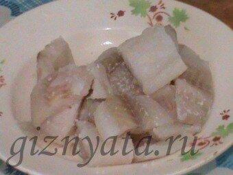 рыба в сыре