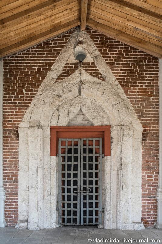 Южные врата Храма Вознесения Господня в Коломенском