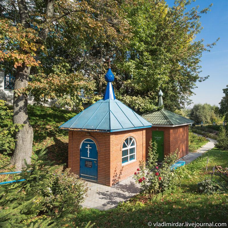 Водосвятная часовня пророка Илии Храма Рождества Христова в Беседах