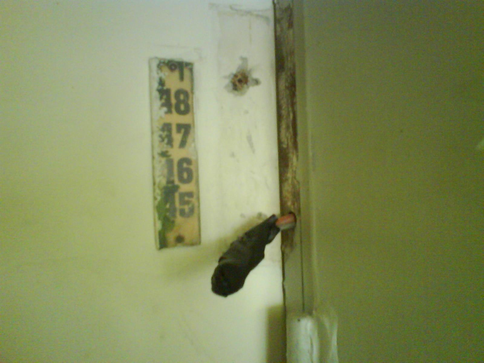 Нет дверного звонка