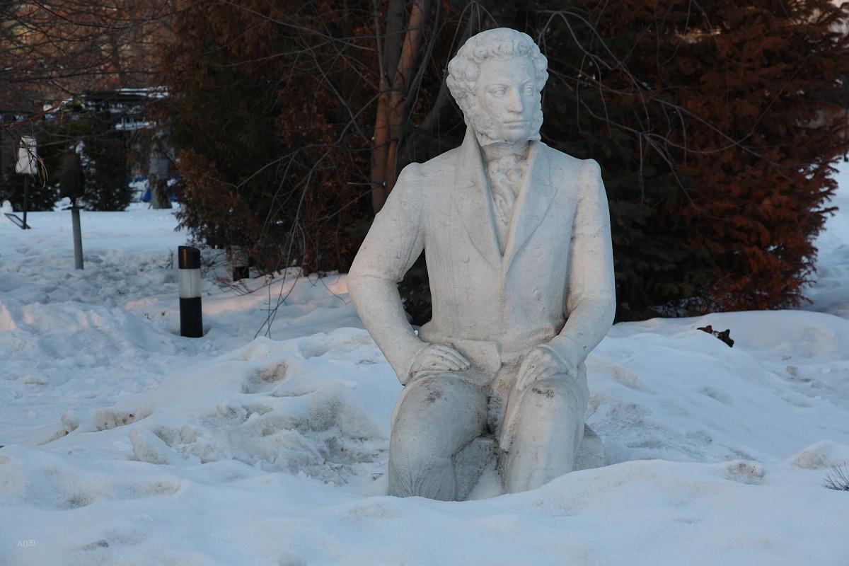 Скульптура А.С. Пушкина