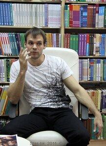 встреча Новосибирского режиссера Олега Захарова с поклонниками 1 мая 2011 года