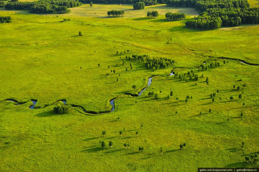 Новосибирская область с высоты (2010) Part III