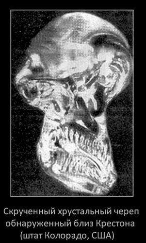 Скрученный череп