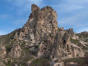 Каппадокия крепость Учхисар