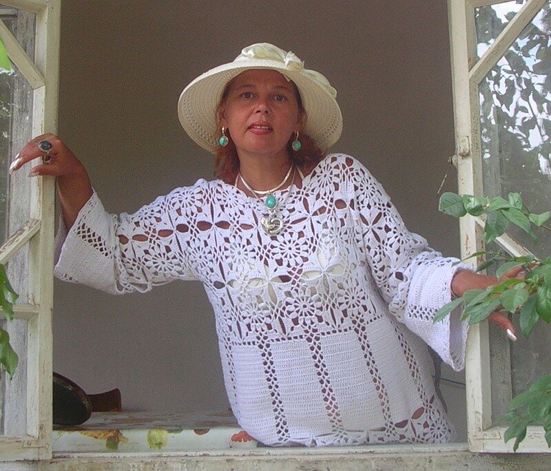 «Кофты крючком» larisa на
