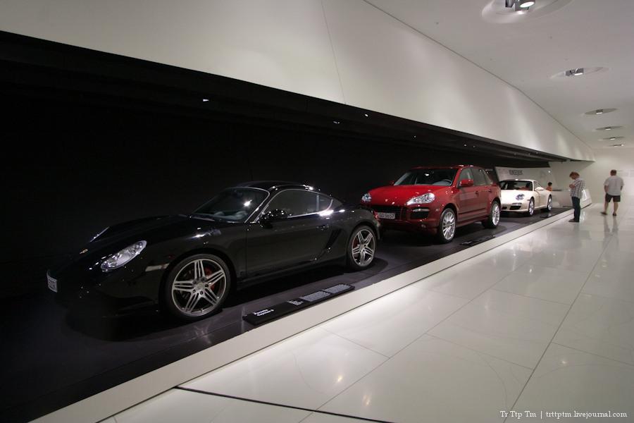 Музей Porsche в Цуффенхаузен, Штутгарт