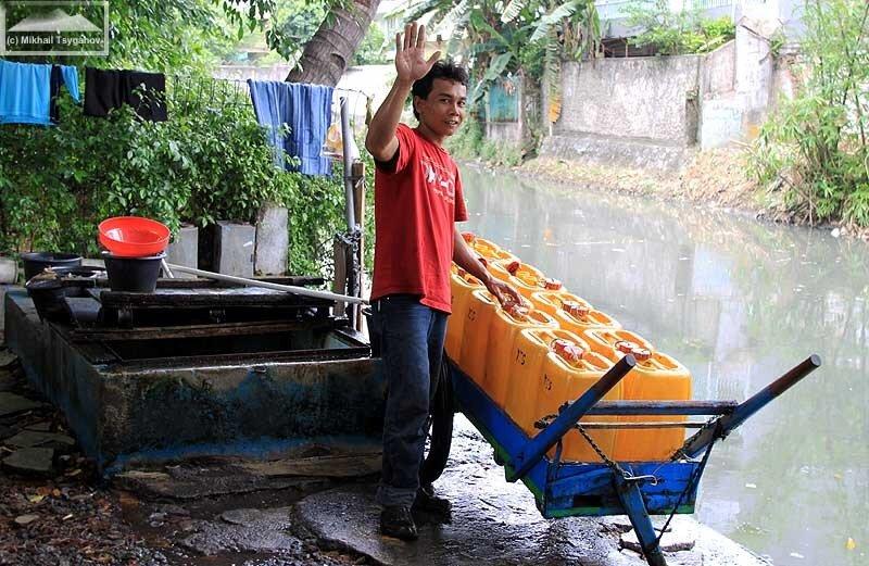 Продавцы воды