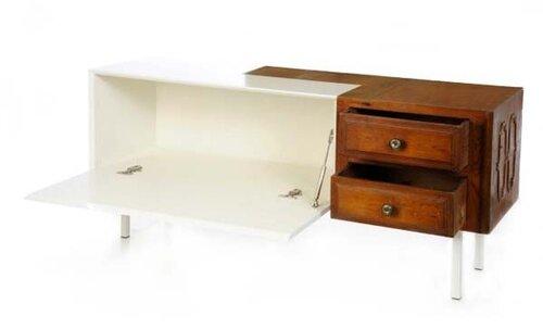 Мебель в современно-винтажном стиле