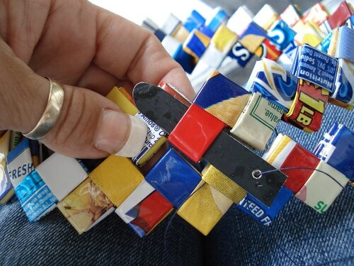 Сумки в технике оригами