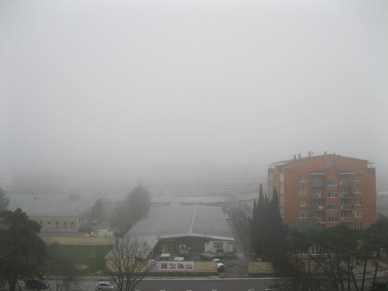 Адлер. Туман