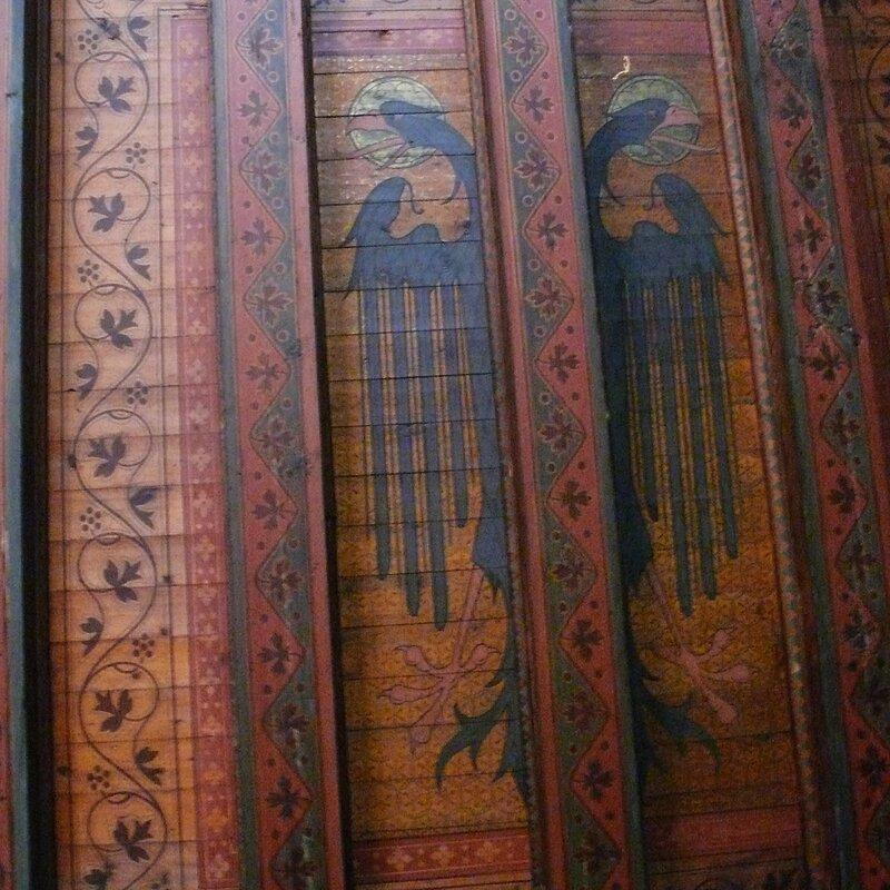 Интерьеры замка Кохем