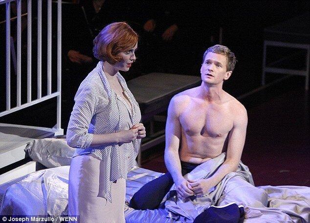 Кристина Хендрик в театре