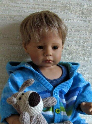 Коллекционные куклы Запф - ребята Макс, Машенька, и Тася