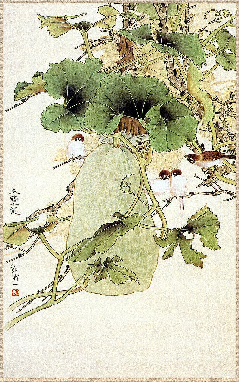 японская живопись фото:
