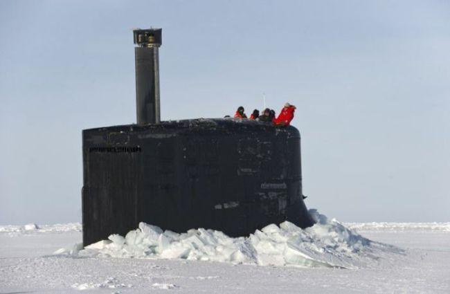 ледяная подводная лодка