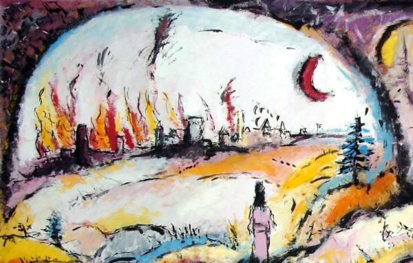Abraham schaut auf Sodom © Ulrich Leive