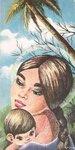 """Предпросмотр - Схема вышивки  """"Мать и дитя """" - Схемы автора  """"palena29 """" - Вышивка крестом."""