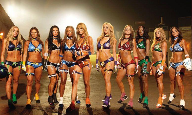 Lingerie Football League in Playboy USA february 2011