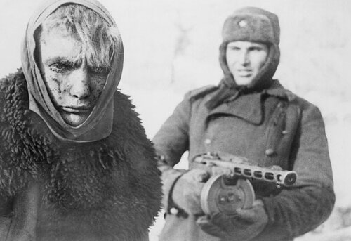 Пленный завоеватель. Сталинград, 1943 год.