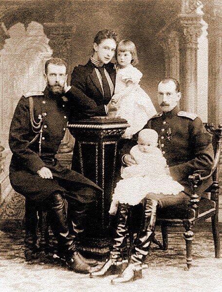 Семья вел.кн.Павла Александровича
