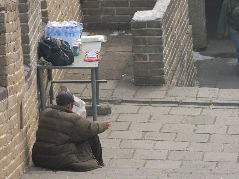 Не туристическая китайская стена Тэйк а лука!