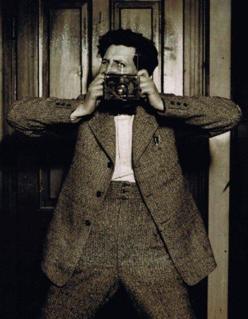 Károly Escher - Autoportrait, 1930