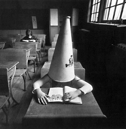 Arthur Tress Girl with Dunce Cap, New York 1972