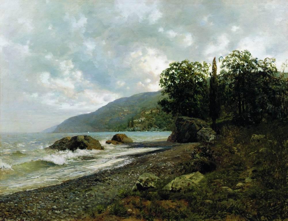 Левитан Исаак Ильич (1860-1900) Крымский пейзаж. 1887.jpg