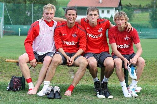 Сбор Спартака в Австрии