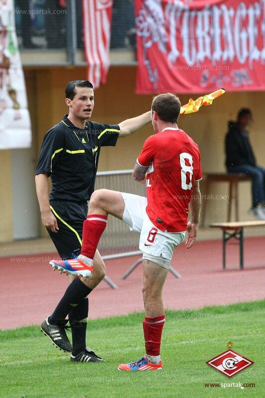 «Спартак» vs «Олимпиакос» 1:1 контрольный матч 2012 (Фото)