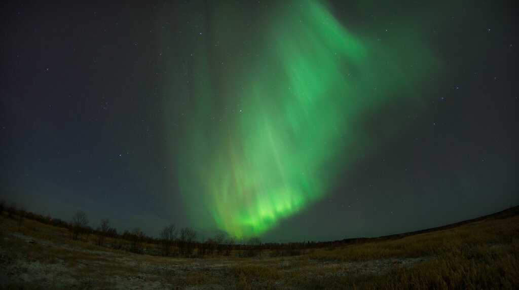 Northern Lights.  2014/10/14.  Ukhta.