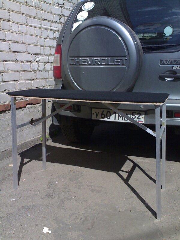 Походный столик в Функарго