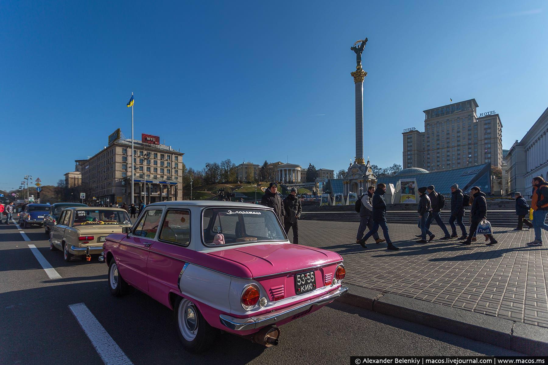 Киевский Майдан. Колыбель двух революций