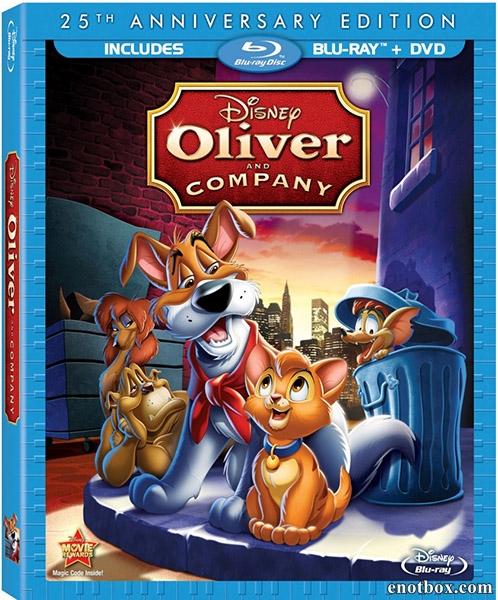 Оливер и компания / Oliver & Company (1988/Blu-Ray/BDRip/HDRip)