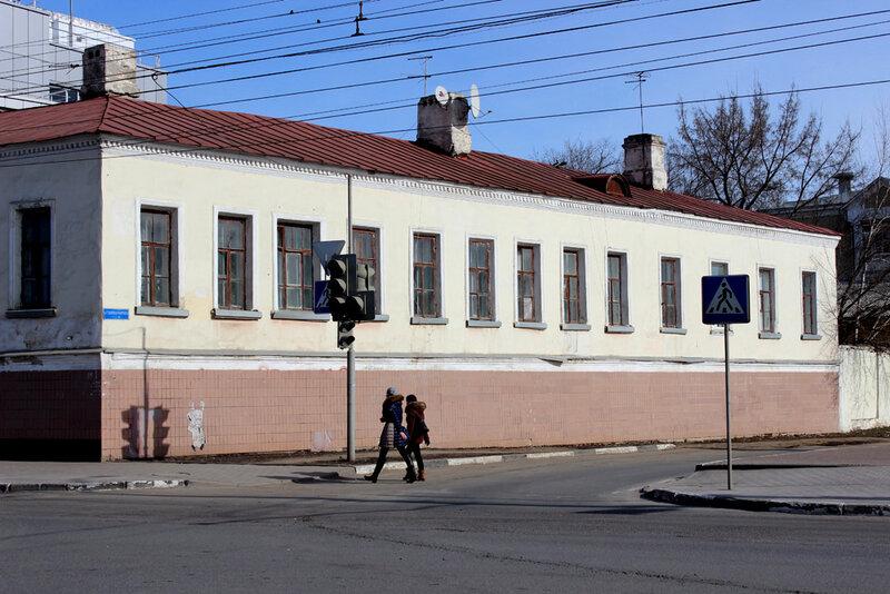 Улица Советская, 107. Фото 26 апреля 2015 года