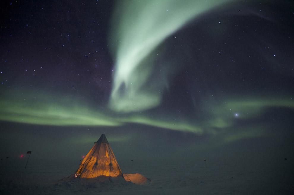 3. Температура –37.1 градусов по Цельсию. В Восточной Антарктиде на советской антарктической станции