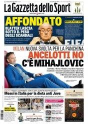 Журнал La Gazzetta dello Sport  (3 Giugno 2015)