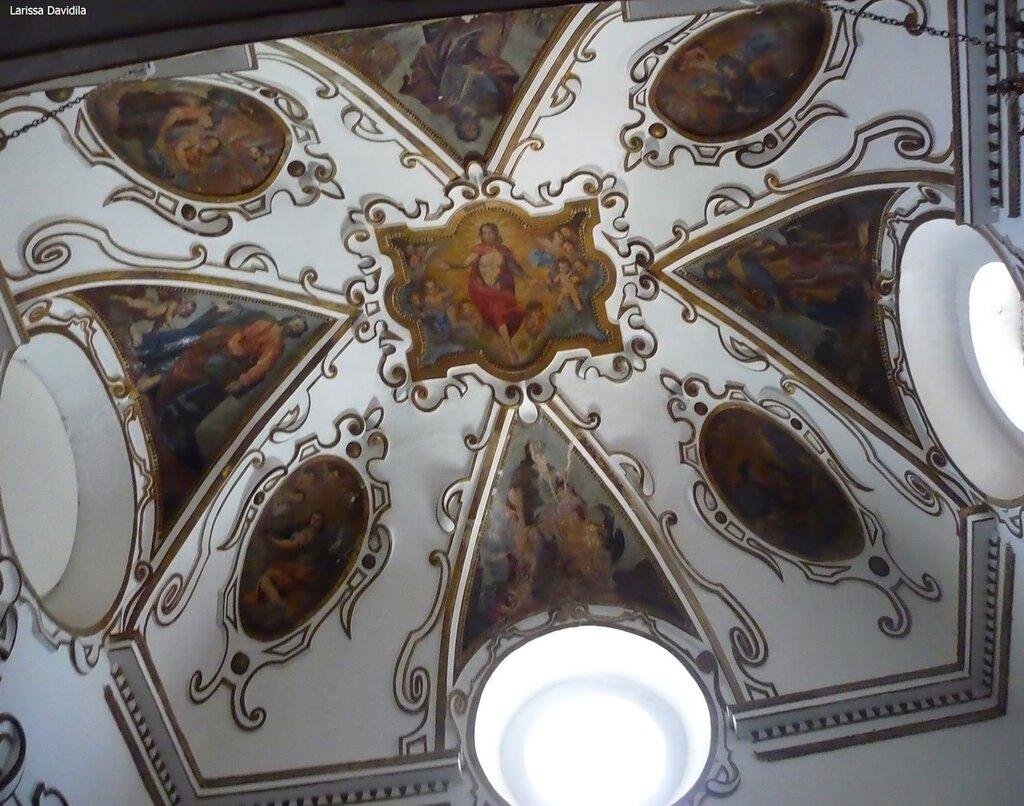 Потолок капеллы в церкви Matrice Vecchia. Castelbuono.