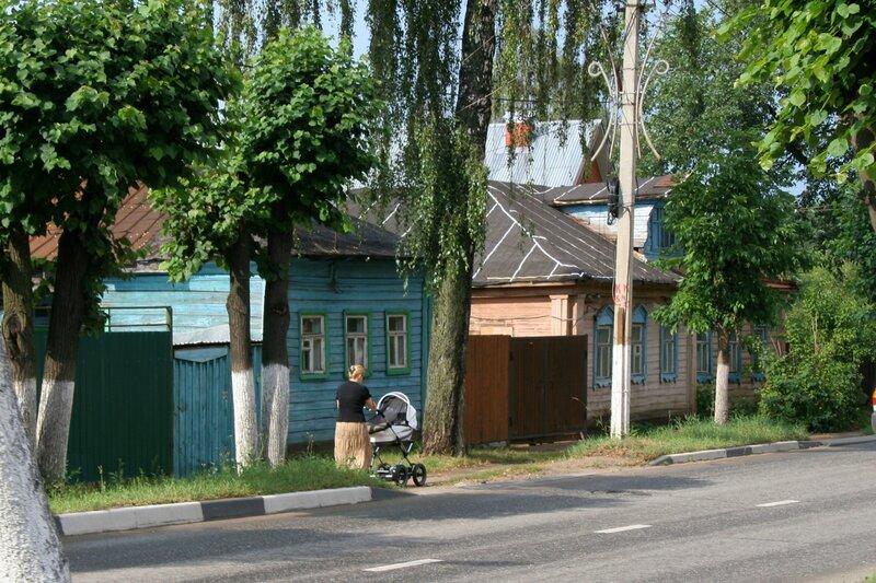 Дмитров, Жилая застройка по улице Минина