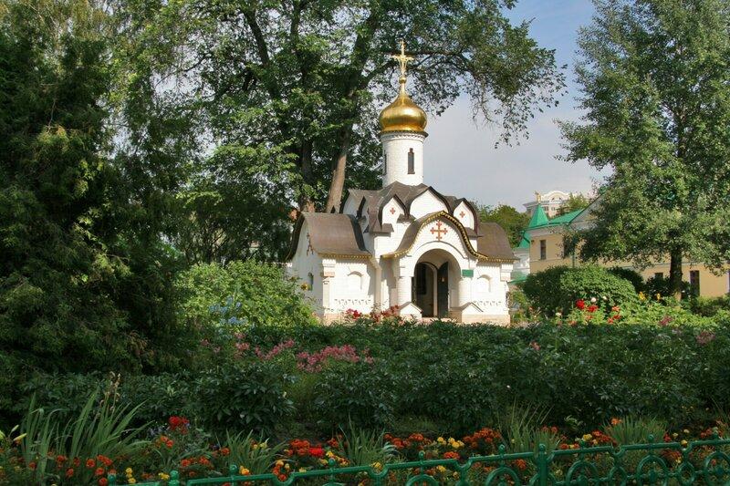 Дмитров, Борисоглебский монастырь, Часовня Сошествия Святого Духа