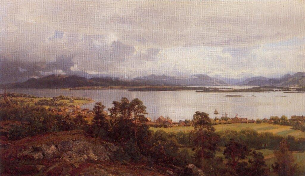Hans Gude--Molde Fra Utsikten--1890..jpg