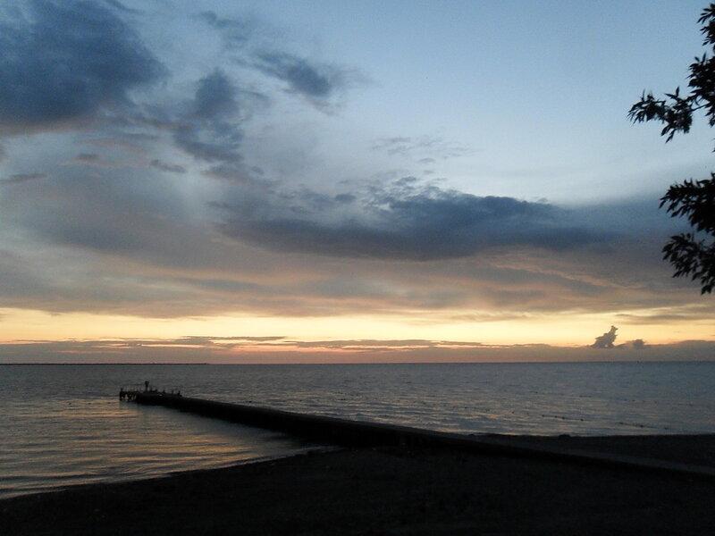 Вечер у моря, лето...