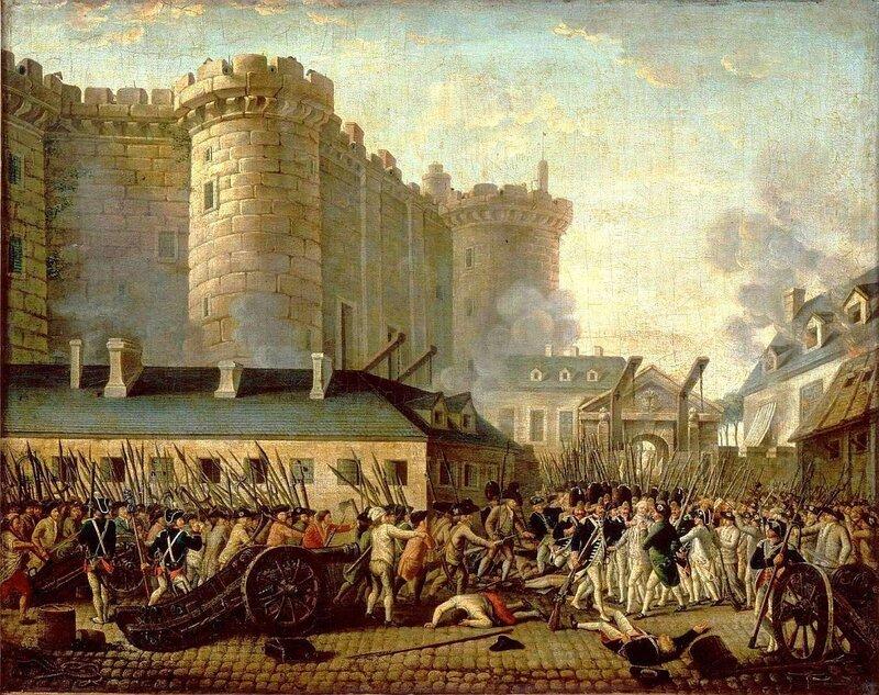 14 июля — День взятия Бастилии