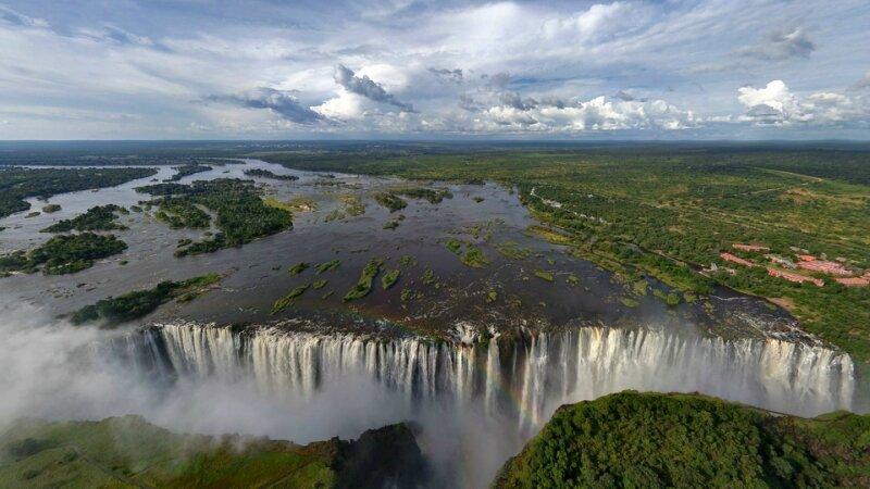 Большой водопад 4