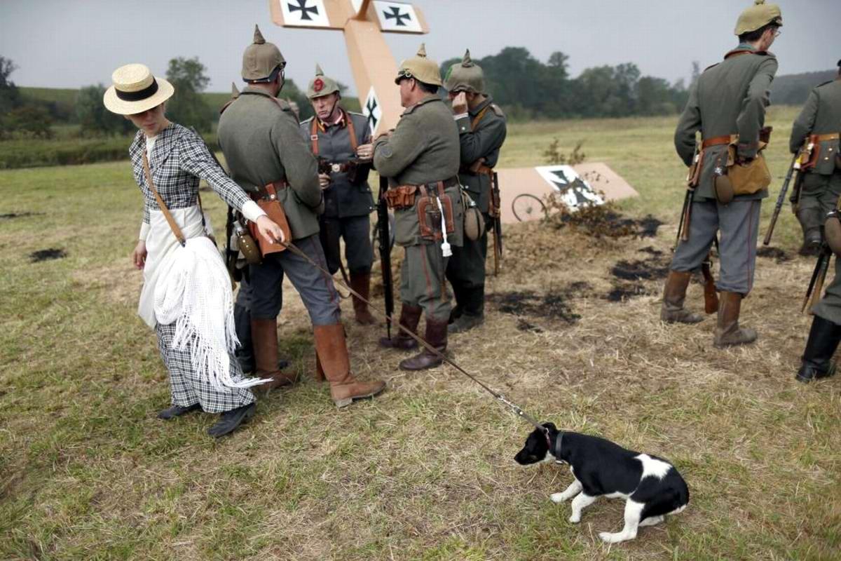 Битва на Марне: Реконструкция событий 1-й мировой войны по-французски (1)