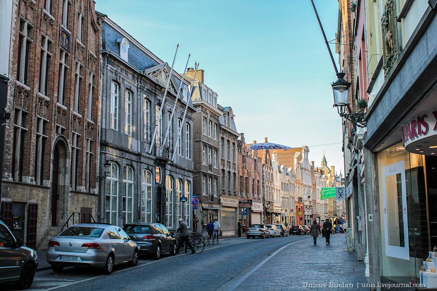 Автомобильное путешествие по Бельгии
