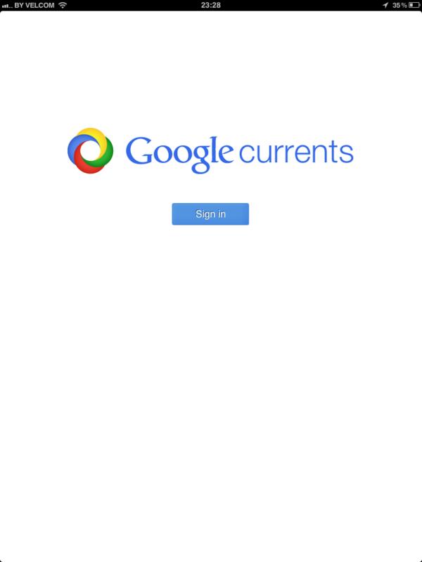 Google Медиа - еще один способ чтения RSS сайтов на iPad
