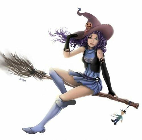 Ведьмочки картинки красивые