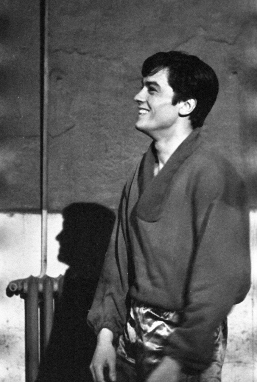 1960. На съемках «Рокко и его братья»